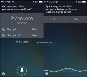 Teaching Mode - iOS 7 Beta 2, Siri